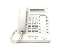 Modern telephone Stock Photo