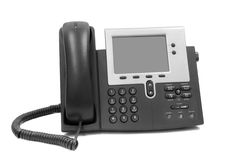 Modern telephone Stock Image