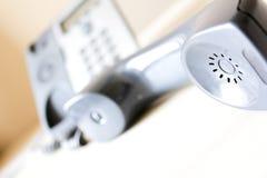 Modern telephone hand Stock Photos