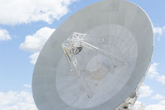 Modern telescope dish for astronomical science Royalty Free Stock Image