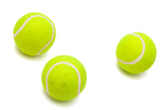 Modern tennis balls Royalty Free Stock Photo