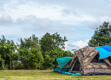 Modern tent Royalty Free Stock Photography
