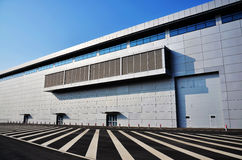 Modern tentoonstellingscentrum Stock Fotografie