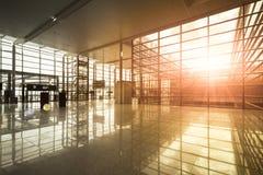 Modern terminal Stock Image