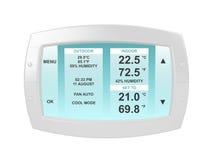 modern termostat Arkivbild