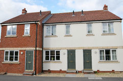 Modern Terraced Houses royalty free stock images
