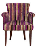 Modern textile chair Stock Image