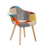 Modern textile chair Stock Photo