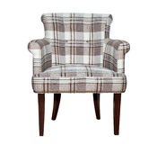 Modern textile chair Royalty Free Stock Images