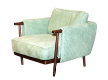 Modern textile chair Stock Photography