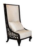 Modern textile design chair isolated Stock Photos