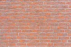 Modern textur för bakgrund för vägg för röd tegelsten royaltyfria foton