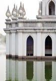 Modern thai pagoda Royalty Free Stock Photo