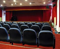 Modern Theater Hall royalty free stock photos