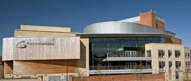 Modern theatre, Shrewsbury, England Stock Images