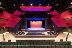 Modern Theatre Stage View Stock Photography