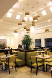 MODERN THEMArestaurant royalty-vrije stock fotografie