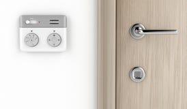 Modern thermostat Royalty Free Stock Photos