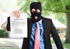 Modern thief Stock Photos