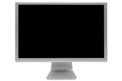 Modern and thin display Stock Images
