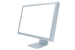 Modern and thin monitor Royalty Free Stock Photography
