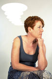 Modern Thinker Stock Photo