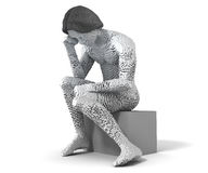 Modern Thinker Stock Photography