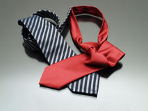 Modern Ties Royalty Free Stock Image