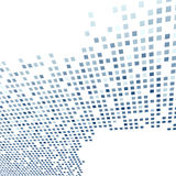Modern tile background template in dark blue Royalty Free Stock Photos