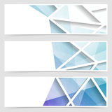 Modern tile geometrical arabic style banner Royalty Free Stock Images