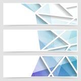 Modern tile geometrical arabic style banner. Vector illustration Royalty Free Stock Images