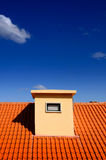 Modern tile roof Royalty Free Stock Photos