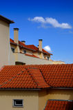 Modern tile roof Royalty Free Stock Images