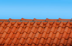 Modern tile roof Royalty Free Stock Photography