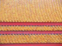 Modern tiles roof Stock Photos