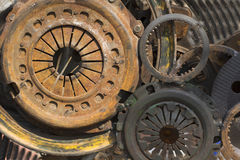 Modern times machine parts stock photo