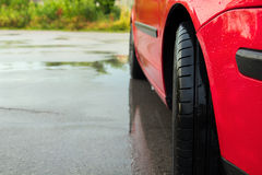 Modern tire Stock Photography