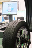 Modern tire machine. In the service station Stock Images