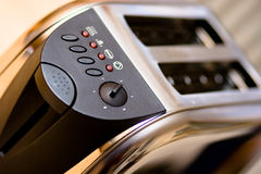 Modern toaster Royalty Free Stock Photography