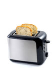 Modern toaster with bread Stock Images