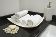 Modern toilet Royalty-vrije Stock Foto's