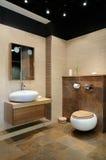 Modern toilet Stock Afbeelding