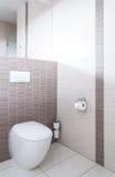 Modern toilet Stock Image