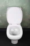 Modern toilet bowl Stock Photography