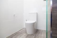 Modern toilet bowl Stock Image