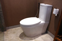 Modern toilet in Hotel Stock Images