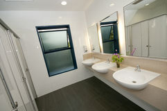 Modern Toilet and Restroom Royalty Free Stock Images