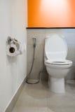 Modern toilet room Stock Photos