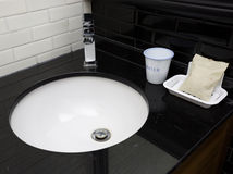 Modern toilet sink Royalty Free Stock Image