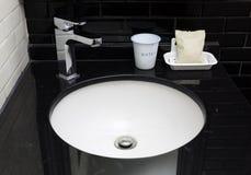 Modern toilet sink Stock Photos